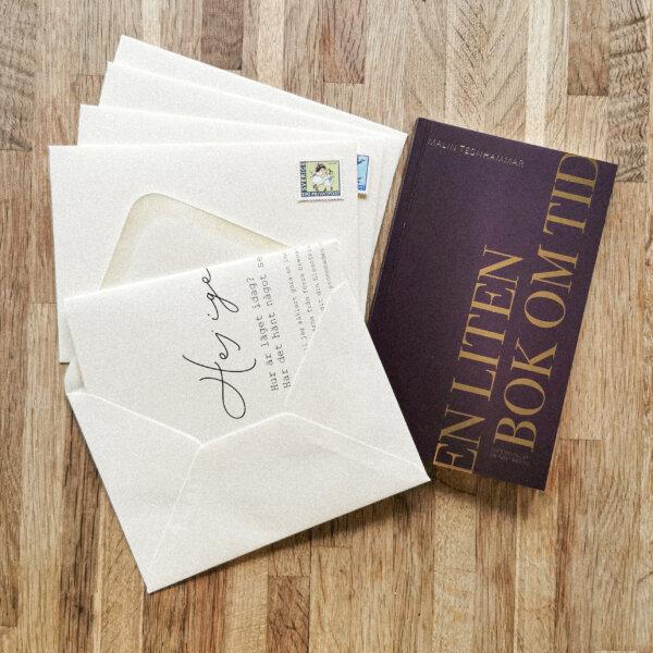 Bok & Brev - fem brev och en bok