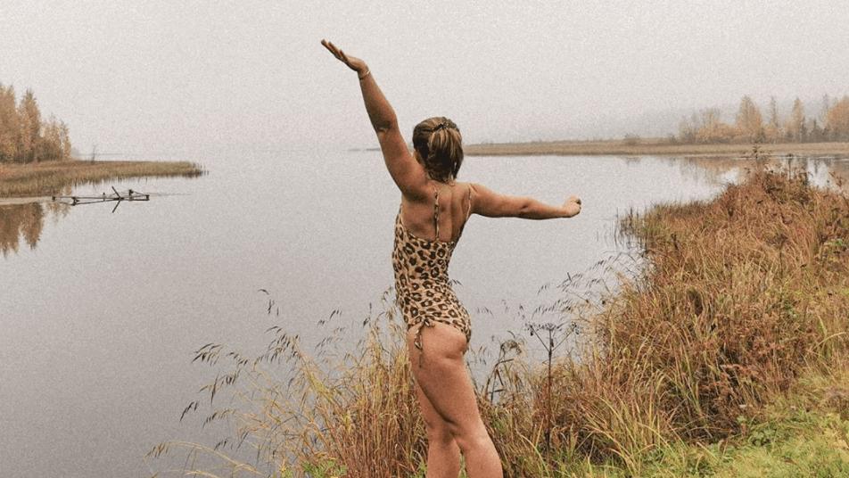 Kallbad, exempelt på vad du kan göra trots corona-restriktionerna
