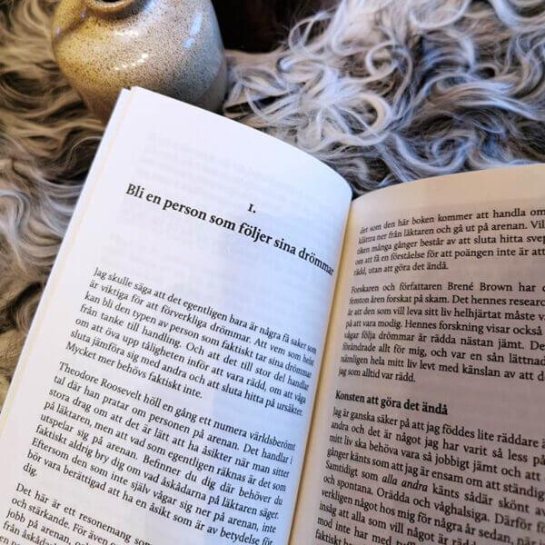 En liten bok om drömmar - sju steg till ditt drömliv uppslag